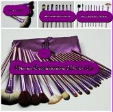Kit 22 Pínceis Roxo